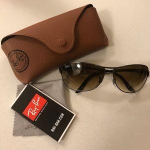 Never Worn Ray-Ban Warrior RB3342 Sunglasses